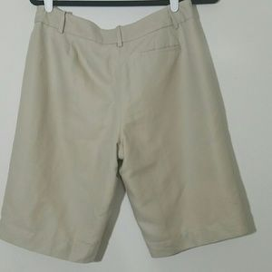 Ann Taylor Shorts - Ann Taylor size 8 linen blend lined khaki shorts